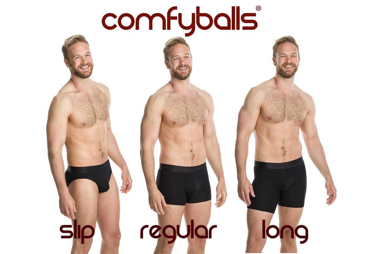 Comfyballs lengtes