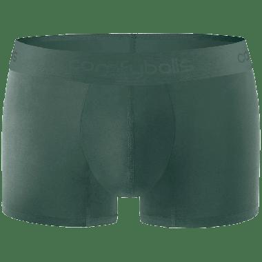 Comfyballs boxershort, katoen groen, Ghost Moss Forest