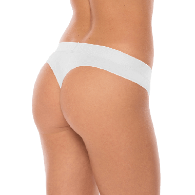 Comfy string Ghost White - wit, tencel