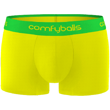 Comfyballs ultra light sportswear. Performance Superlight Mellow Yellow Regular Boxershort