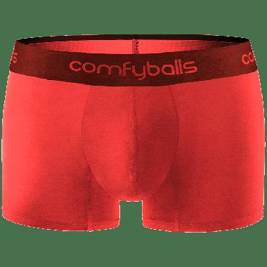 Comfyballs Performance Superlight Plasma Red Regular, boxershort voor topsport en sportieve activiteiten